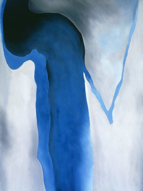 Georgia O'Keeffe - Blue Black and Grey - wf15297