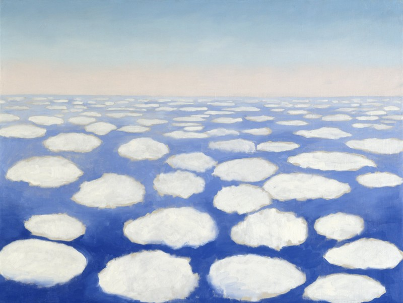 Georgia O'Keeffe – Above the Clouds I - wf15286