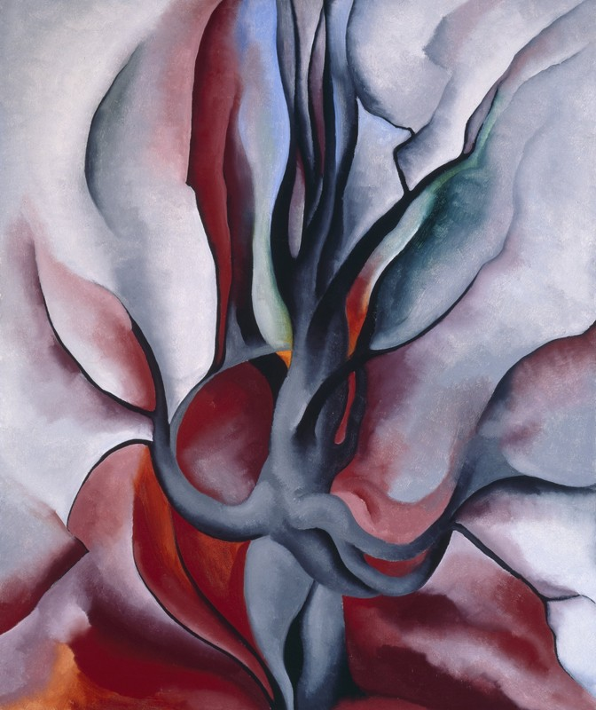 Georgia O'Keeffe – Autumn Trees - The Maple - wf15293