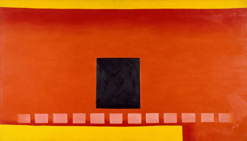 Georgia O'Keeffe – Black Door with Red - wf16978