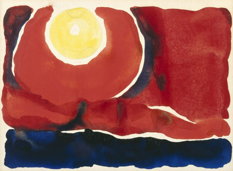 Georgia O'Keeffe – Evening Star No VI - wf16981