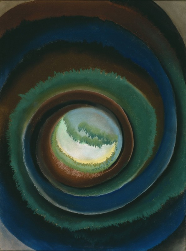 Georgia O'Keeffe – Pond in the Woods - wf16969