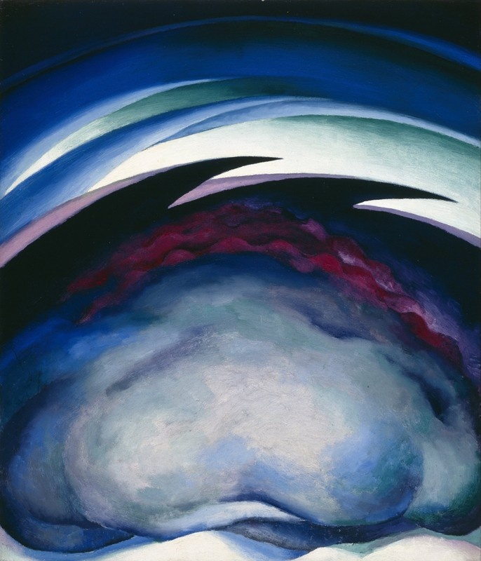 Georgia O'Keeffe – Series I - From the Plains - wf15294